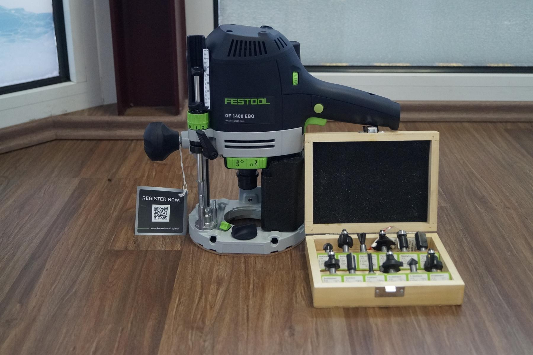 FESTOOL Oberfräse OF 1400 EBQ